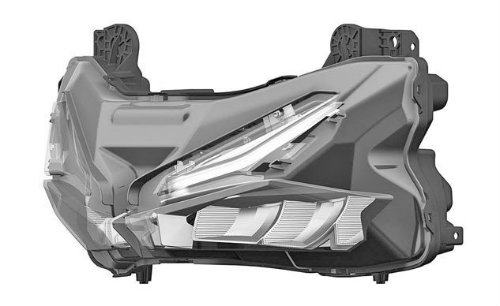 Đèn pha Honda CBR250RR đạt chuẩn châu Âu - 2