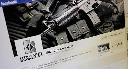Nở rộ nạn buôn bán vũ khí trên Facebook - 1