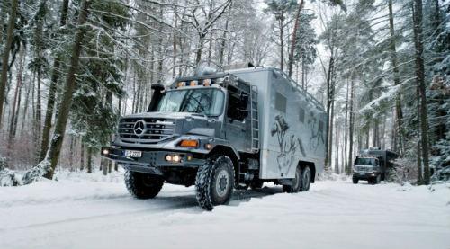 Mercedes Zetros 2733 A 6×6: RV đắt tiền cho con nhà giàu - 5