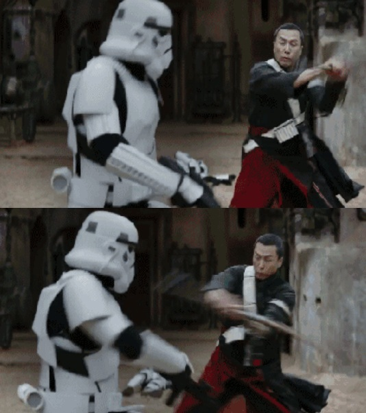 """Chân Tử Đan đọ kiếm dũng mãnh trong """"Star Wars"""" - 2"""