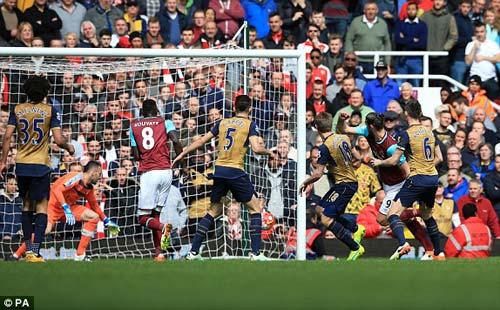 Video West Ham vs Arsenal - 1