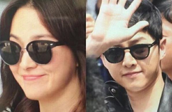 """Fan bóc bằng chứng yêu của cặp đôi """"Hậu duệ mặt trời"""" - 3"""