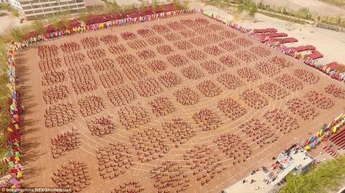 Tiết học kungfu của 26.000 học viên xác lập kỷ lục thế giới - 3