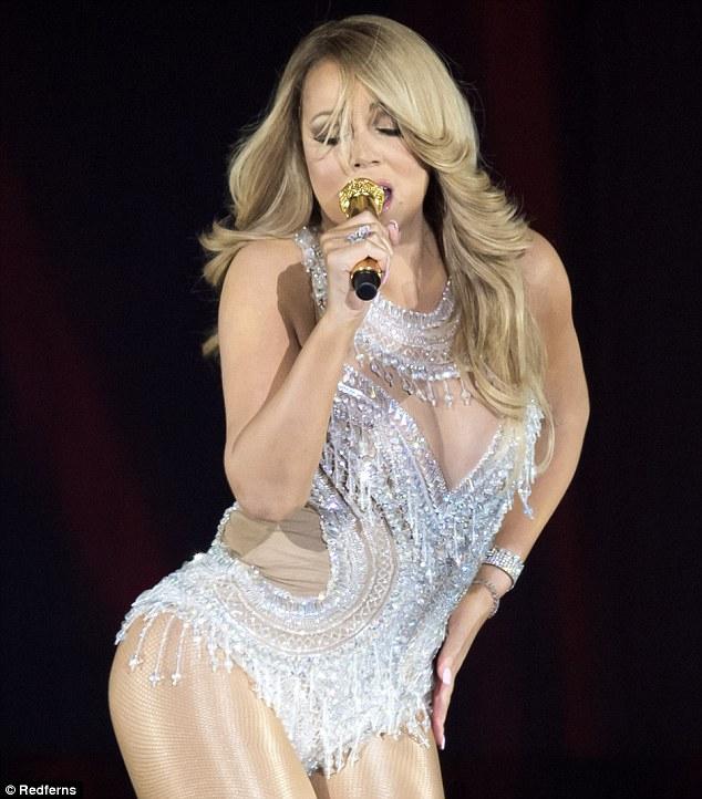 Mariah Carey quyết tâm giảm cân để diện vừa váy cô dâu - 3