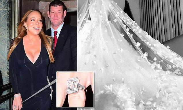 Mariah Carey quyết tâm giảm cân để diện vừa váy cô dâu - 1