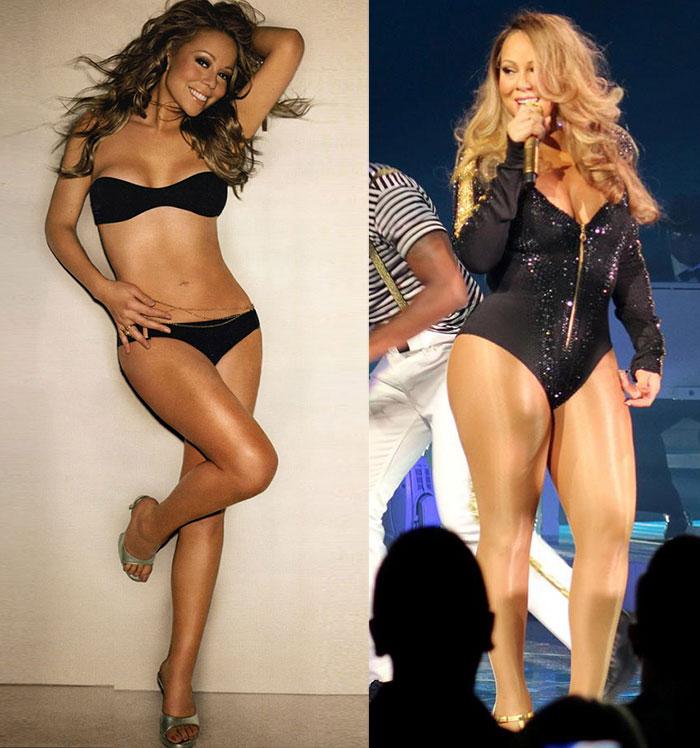 Mariah Carey quyết tâm giảm cân để diện vừa váy cô dâu - 2