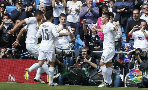 Video Real Madrid vs Eibar - 1