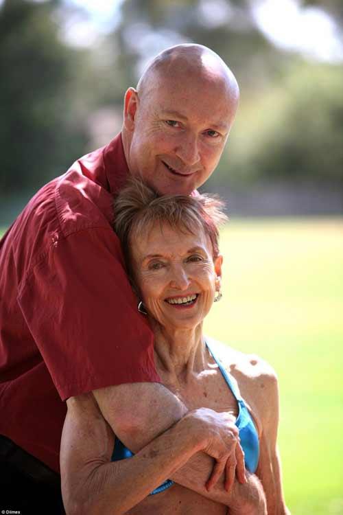 Cụ bà 73 tuổi chăm tập thể hình để chống lão hóa - 3