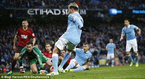 Video Man City vs West Brom - 1