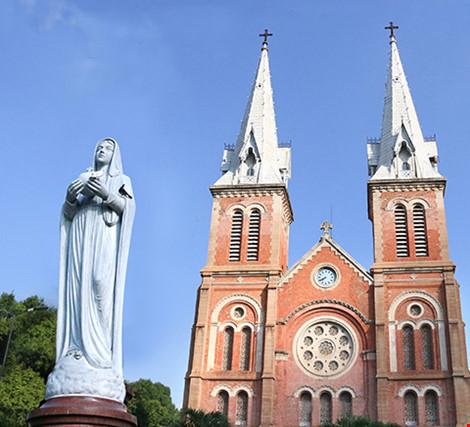 Nhà thờ cổ Sài Gòn: Phục hồi vẻ đẹp nguyên sơ nhà thờ Đức Bà - 1