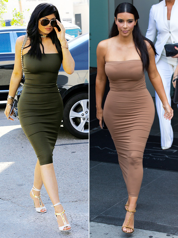 Em út cô Kim Kardashian chuyên mặc lại mốt của chị - 1