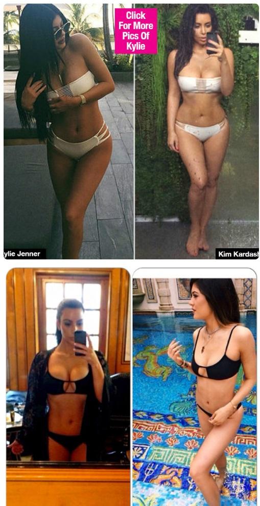 Em út cô Kim Kardashian chuyên mặc lại mốt của chị - 2