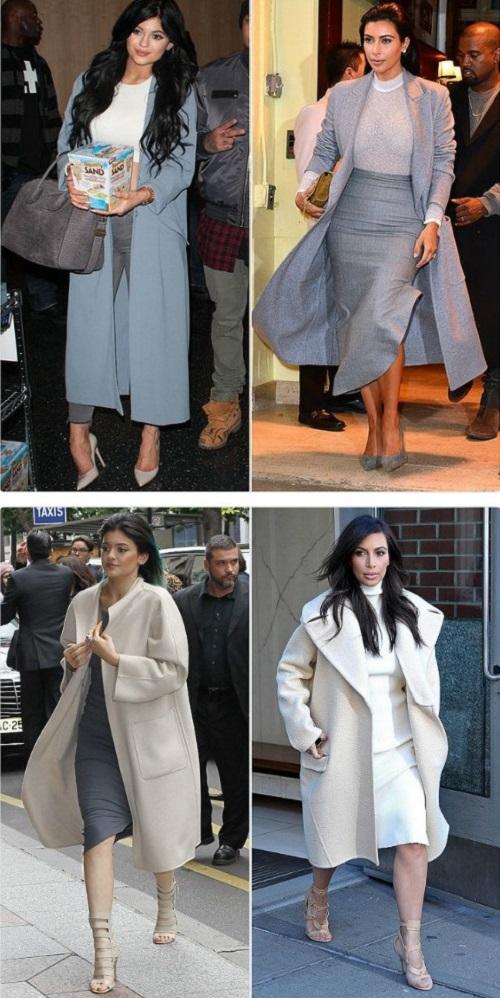 Em út cô Kim Kardashian chuyên mặc lại mốt của chị - 3