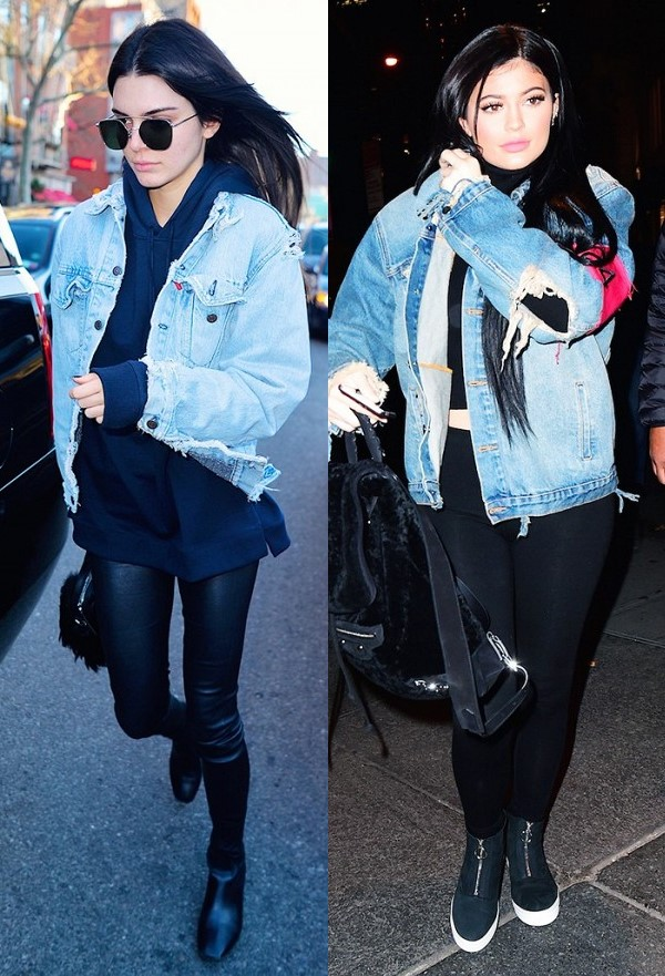 Em út cô Kim Kardashian chuyên mặc lại mốt của chị - 9