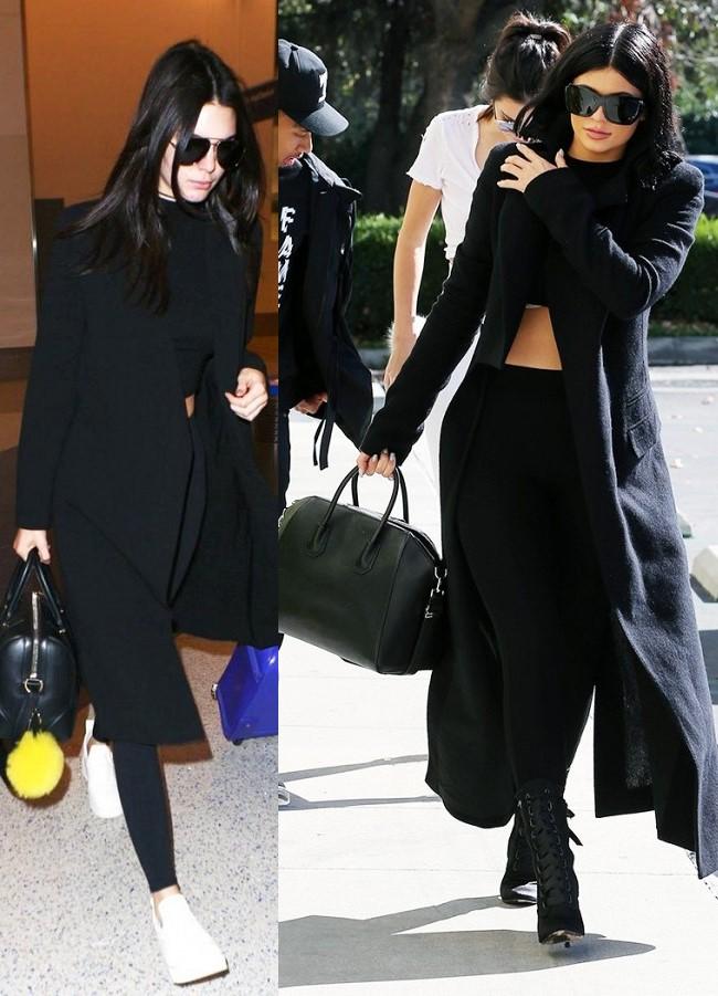 Em út cô Kim Kardashian chuyên mặc lại mốt của chị - 11