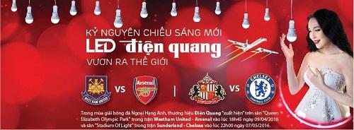 West Ham – Arsenal: Cảm giác khác biệt từ LED Điện Quang - 5