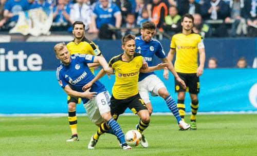 Schalke – Dortmund: Hiệp 2 kịch tính - 1