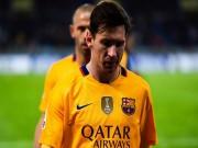 Bóng đá - Barca thua sốc, Messi có chuỗi trận tệ nhất sau 5 năm