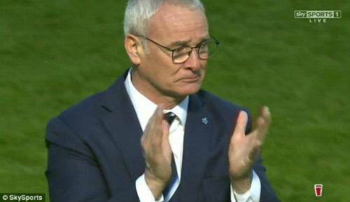 Leicester lần đầu dự Champions League, Ranieri rơi lệ - 2