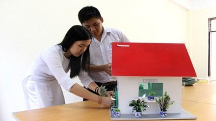 Nhà chống ô nhiễm của học sinh lớp 10 ở Đà Nẵng - 1