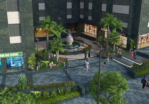Lộ diện thiết kế cảnh quan nội khu dự án Hateco Hoàng Mai - 2