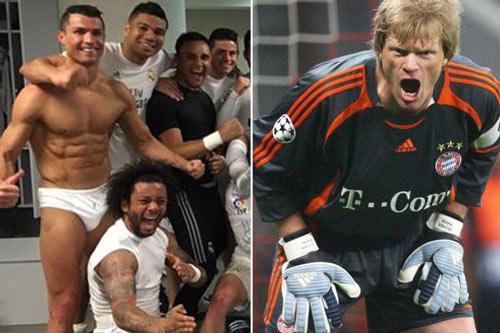 """Huyền thoại Bayern """"ngắm"""" bụng Ronaldo nhiều hơn ngực vợ - 1"""