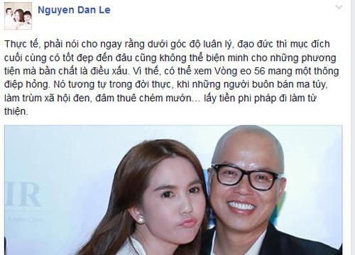 Facebook sao 11.4: Đan Lê chê phim hot của Ngọc Trinh - 1
