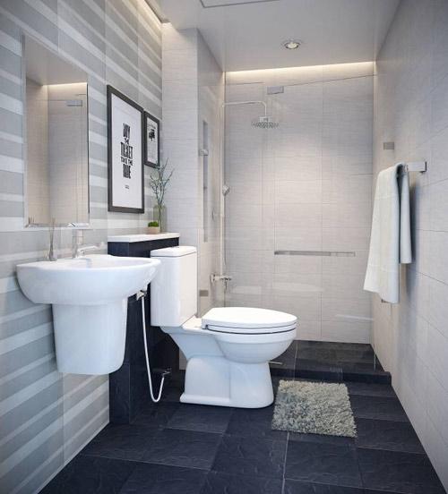 4 mẫu phòng tắm đẳng cấp phù hợp với mọi diện tích - 1
