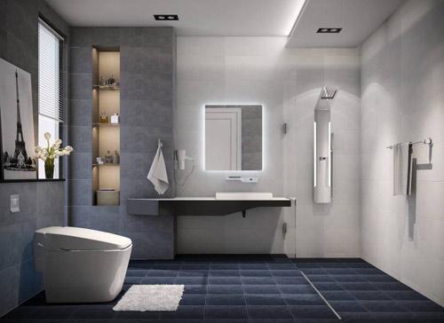4 mẫu phòng tắm đẳng cấp phù hợp với mọi diện tích - 2