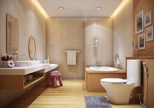 4 mẫu phòng tắm đẳng cấp phù hợp với mọi diện tích - 3