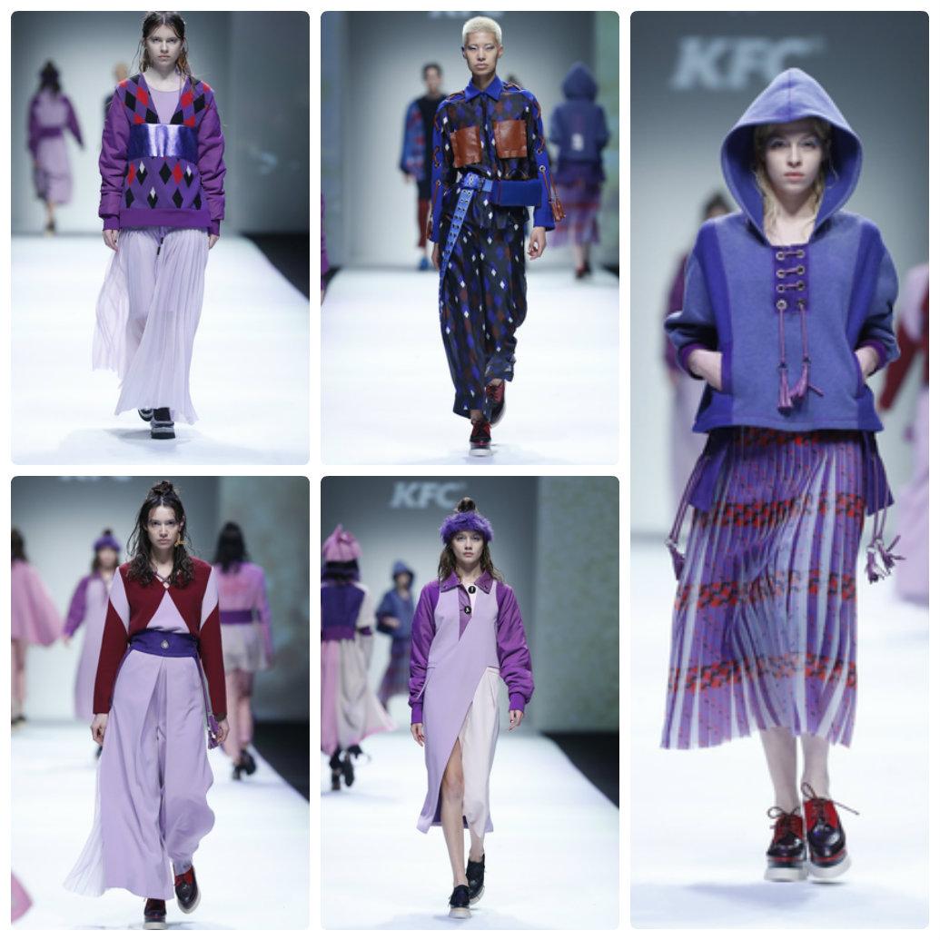 Tuần lễ thời trang Thượng Hải: Sắc xanh, tím lên ngôi - 4