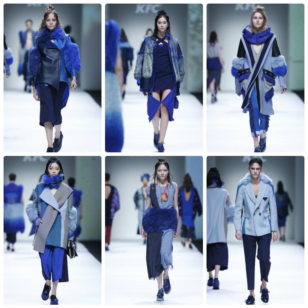 Tuần lễ thời trang Thượng Hải: Sắc xanh, tím lên ngôi - 5