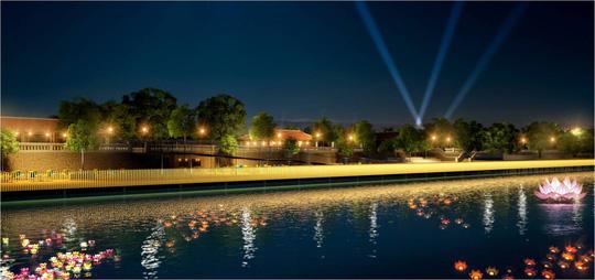 Huế sẽ làm đường đi bộ lát gỗ ngoài trời dọc sông Hương - 3