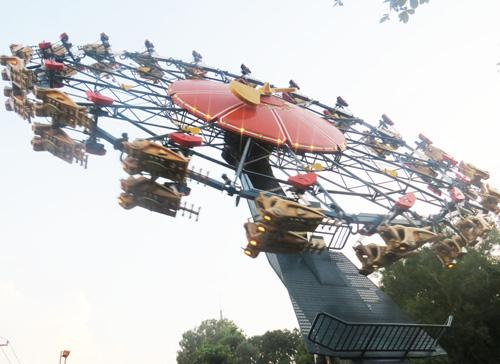 Khu vui chơi Thỏ Trắng tưng bừng chào đón mùa lễ hội 30/04 – 1/5 - 4