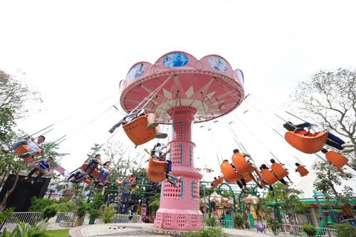 Khu vui chơi Thỏ Trắng tưng bừng chào đón mùa lễ hội 30/04 – 1/5 - 5