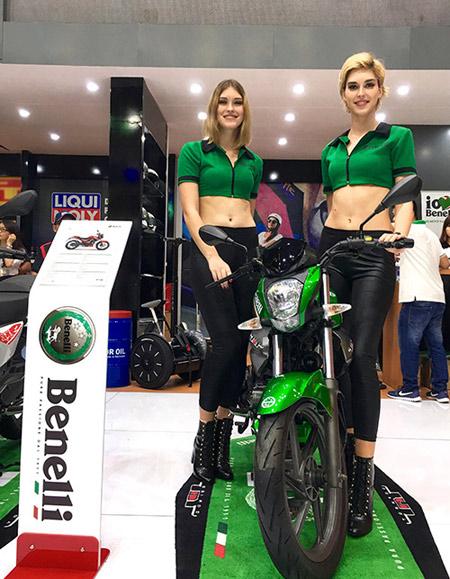 Benelli cùng lúc trưng bày đủ các dòng xe tại triển lãm mô tô, xe máy 2016 - 3