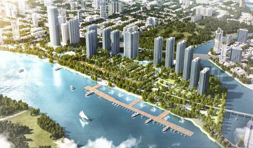Vingroup công bố dự án đẳng cấp Vinhomes Golden River - 3