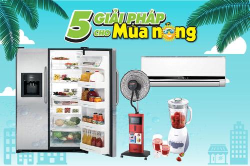 5 giải pháp cho mùa nóng tại điện máy HC - 3