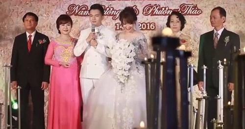 """Sao nam Việt """"mạnh mấy cũng yếu"""" trong ngày cưới vợ - 3"""