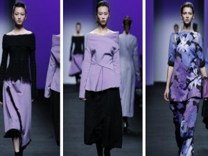 Tuần lễ thời trang Thượng Hải: Sắc xanh, tím lên ngôi