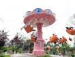 Khu vui chơi Thỏ Trắng tưng bừng chào đón mùa lễ hội Giỗ tổ Hùng Vương