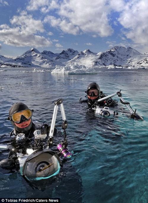 Sốc với phần chìm khổng lồ của tảng băng trôi - 10
