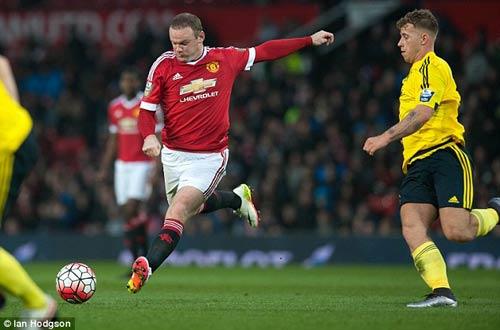 Tái xuất, Rooney chơi xông xáo ở đội U21 MU - 1