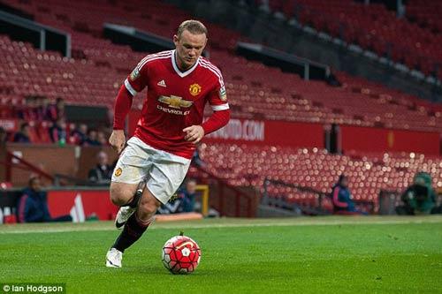 Tái xuất, Rooney chơi xông xáo ở đội U21 MU - 4