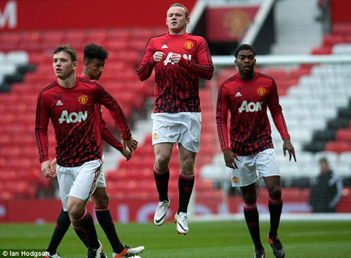 Tái xuất, Rooney chơi xông xáo ở đội U21 MU - 2