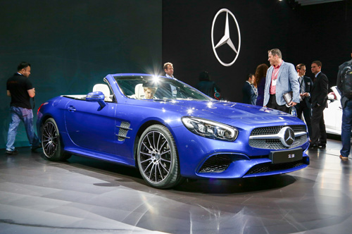 Mercedes-Benz dính bê bối khí thải - 1
