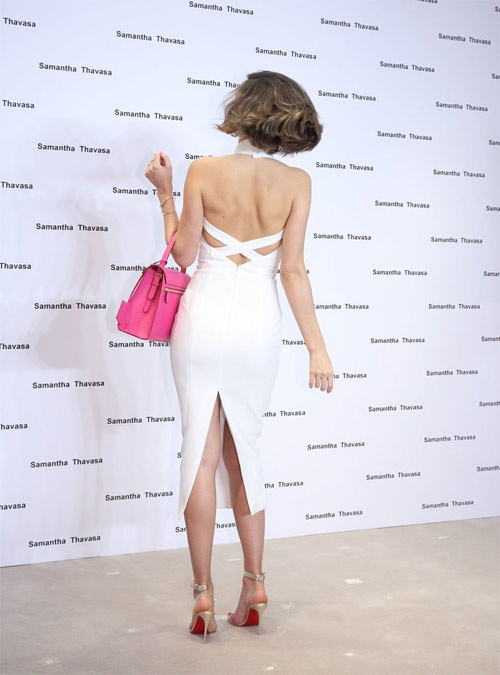 """Miranda Kerr mặc hở hơn sau khi """"xuống tóc"""" - 7"""