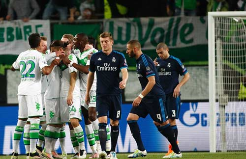 Real Madrid vs Wolfsburg - 1