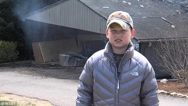 Mỹ: Cậu bé 10 tuổi cứu 40 người khỏi chết cháy - 4