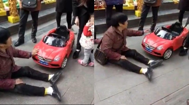 TQ: Khỏa thân giữa đường lăn vào mũi xe ô tô ăn vạ - 3